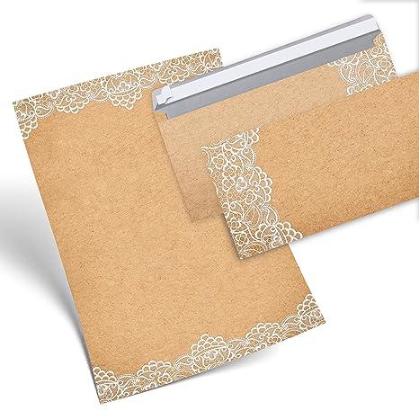 Set 25 hojas de papel carta Vintage punta Color Blanco ambos lados 100 g DIN A4 ...