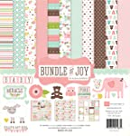 Echo Park Paper Bundle of Joy Kit de colección para Scrapbooking, para niña