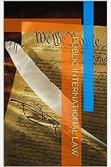 Public International Law Kindle Edition