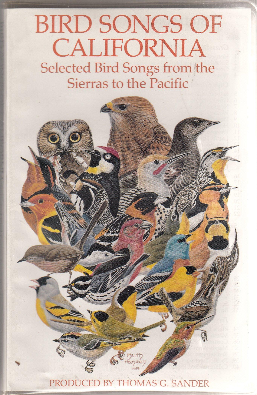 Bird Songs of California, Sander, Thomas
