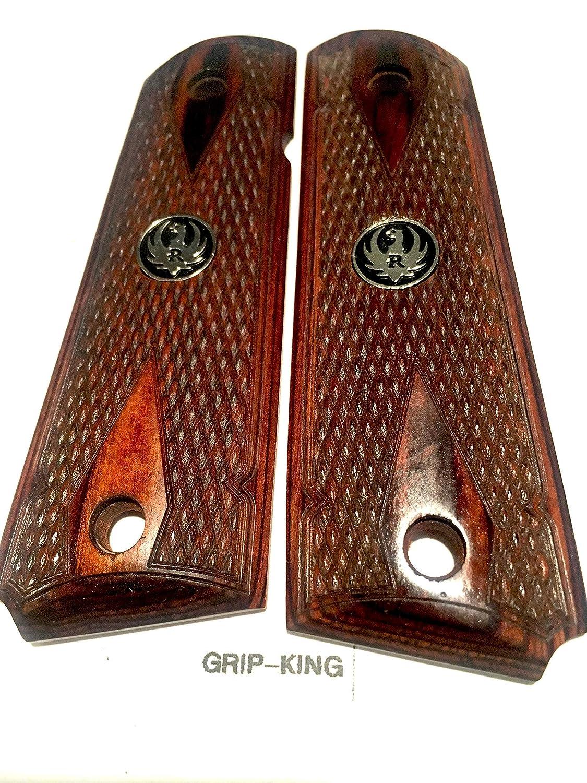 SR 1911 RUGER GRIPS,Rosewood Burl,