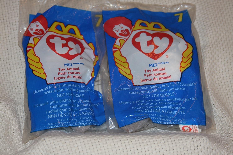 New McDonalds Ty Beanie Baby Mel Unopened 1998