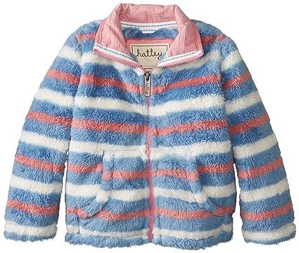 Amazon.com: Hatley Little Girls' Fuzzy Fleece Jacket - Winter ...