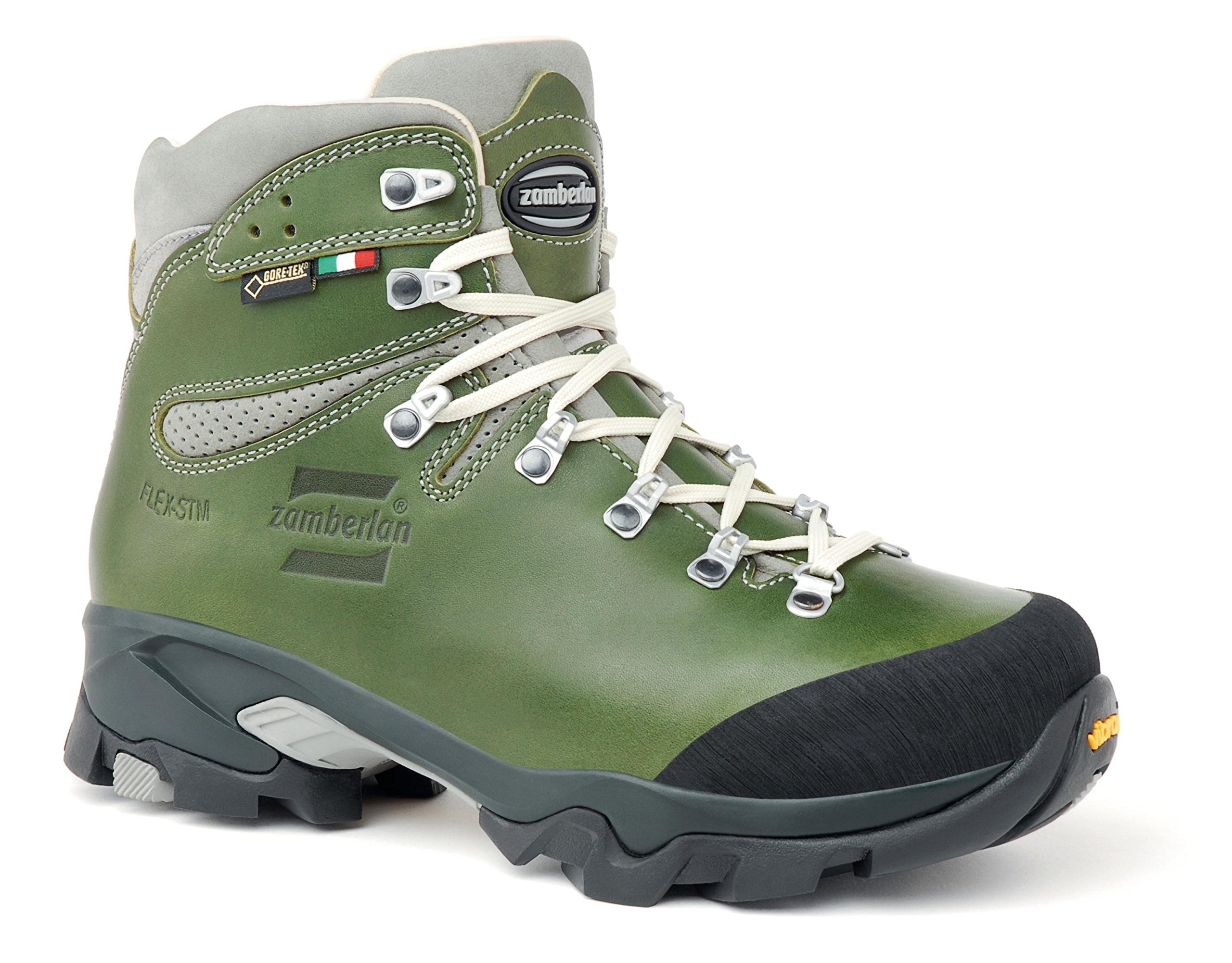 Zamberlan 1996 Vioz Lux GTX RR WNS - Backpacking Boots - Waxed Green - 8.5