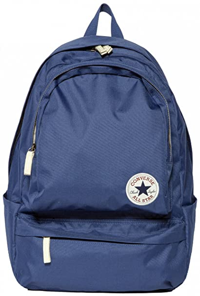 Converse Mochila Core Poly Chuck Plus Backpack, Color Converse Navy, tamaño 46 x 30