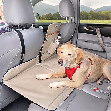 Kurgo Backseat Reversible Dog Bridge Car Extender Water Resistant Universal Fit