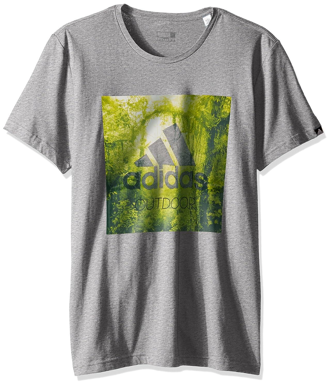 adidas Outdoor Mens T-Shirt Med Grey Hthr X-Large AY7169