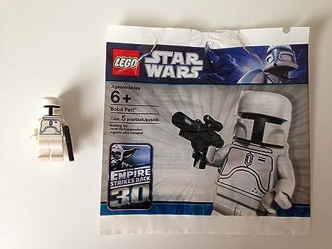 Amazoncom Lego Star Wars White Boba Fett Minifigure Sealed 30th