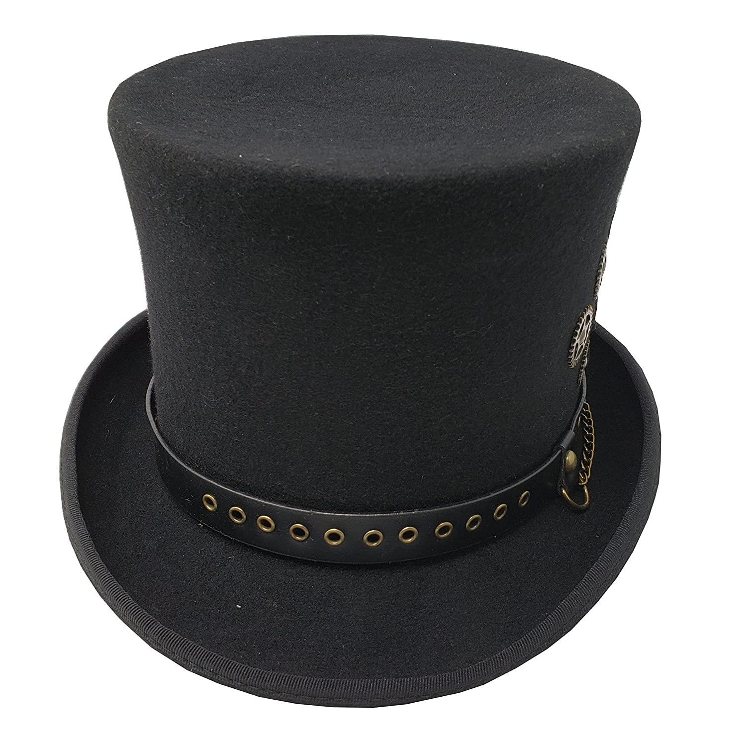 5db8b6585d45d6 Amazon.com: Different Touch 100% Wool Felt Victorian Mad Hatter Steampunk  6