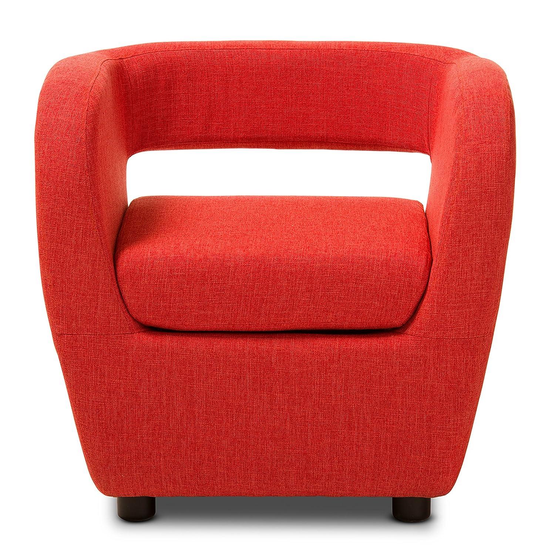 Superior Amazon.com: Baxton Studio Ramon Mid Century Modern Upholstered Lounge  Accent Chair, Medium, Burst Orange: Kitchen U0026 Dining