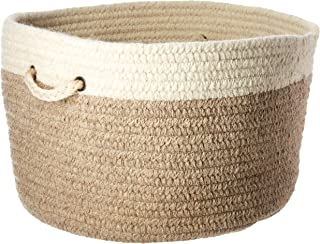 product image for Colonial Mills Chunky NAT Wool Dipped Basket, 18 by 12-Inch, Beige