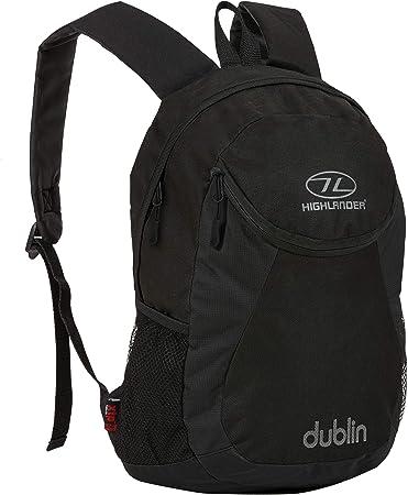 Highlander Dublin Small Daysack Rucksack Backpack 15 Litre Work Lunch Purple