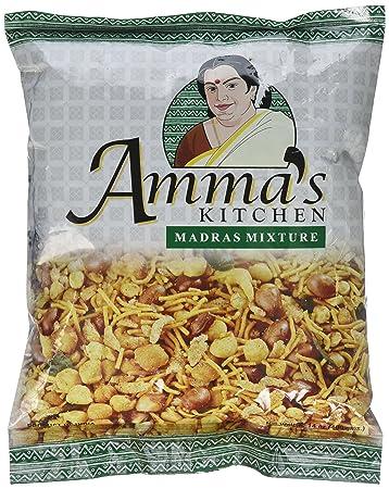 Amazon.com : Laxmi, Amma\'s Kitchen Madras Mixture, 14 Ounce(oz ...