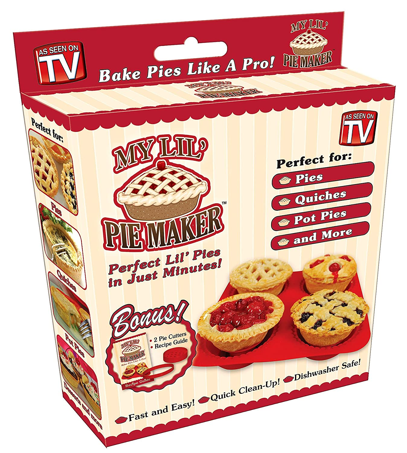 My Lil' Pie Maker Set My Lil' Pie Maker Set As Seen On T.V. COMINHKR053339
