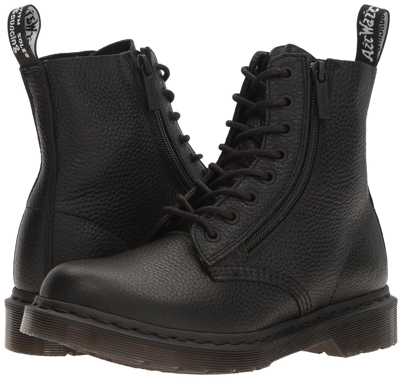 Dr. Martens Combat Women's Pascal with Zip Combat Martens Boot B01IDSPI8E 4 UK/6 M US|Black 6cd594
