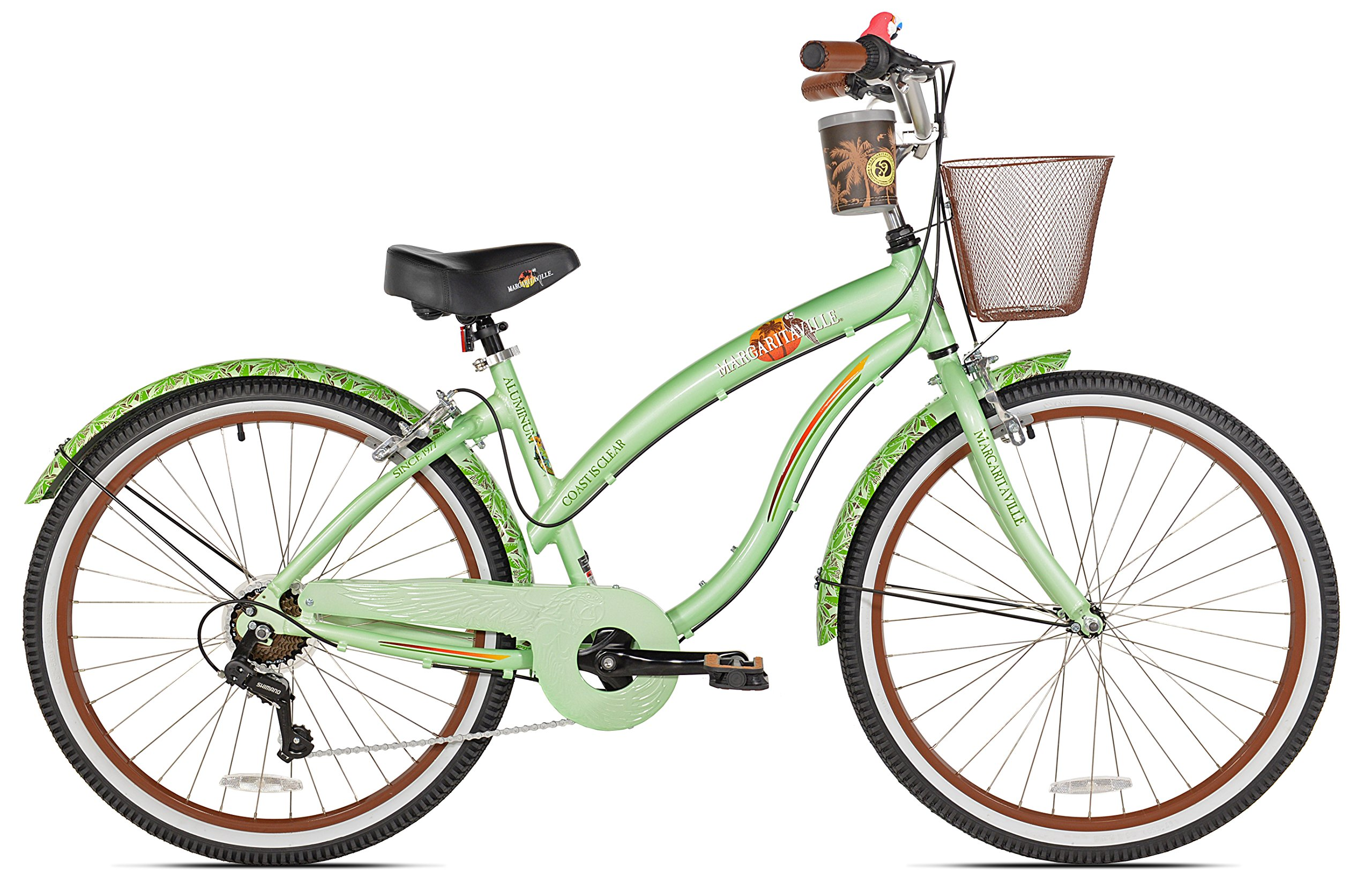 Margaritaville Coast Is Clear Women's Beach Cruiser Bike, 26-Inch by Margaritaville (Image #2)