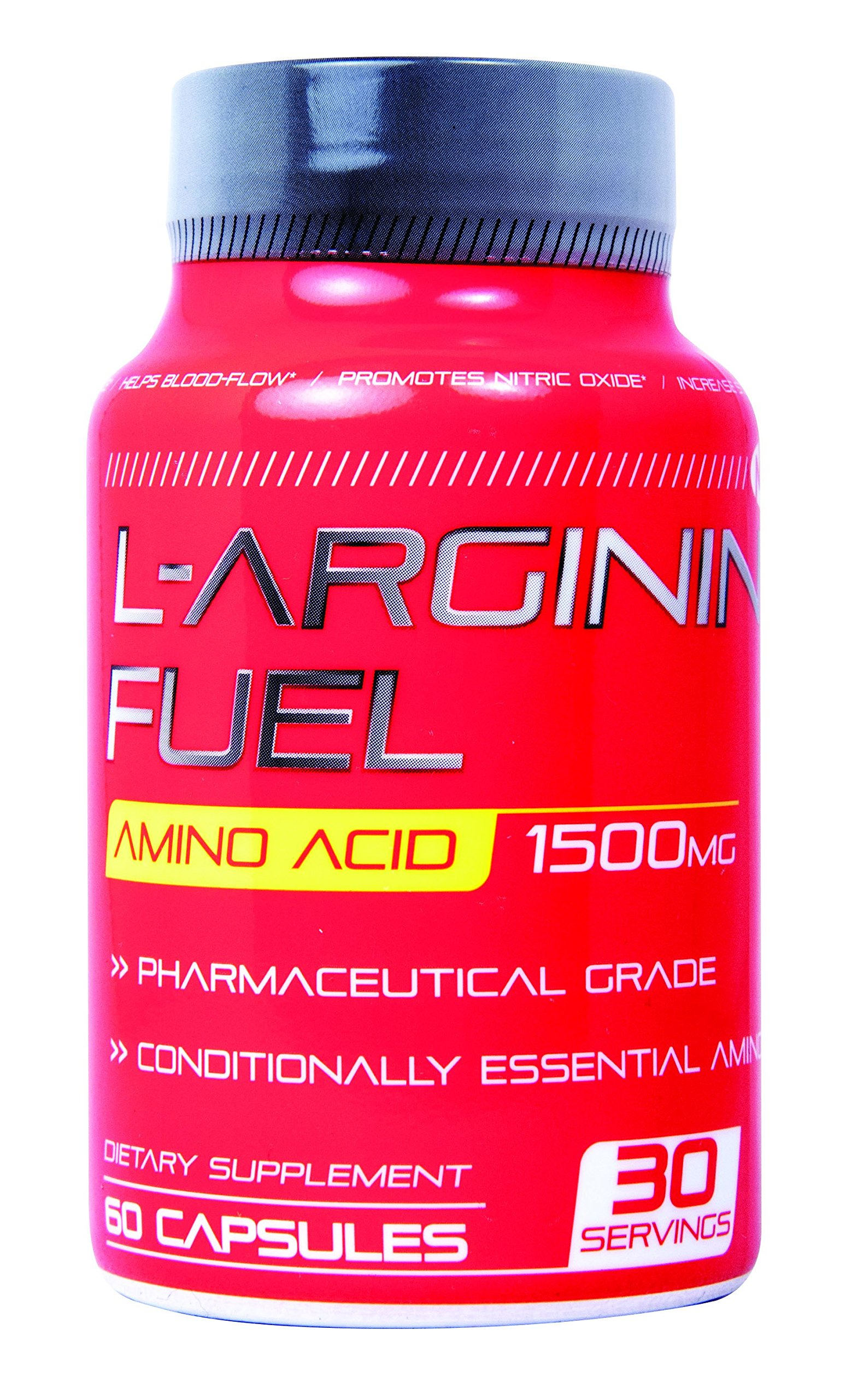 N.1 L-arginine Fuel Extra Strength L Arginine - 1500mg Nitric Oxide Booster