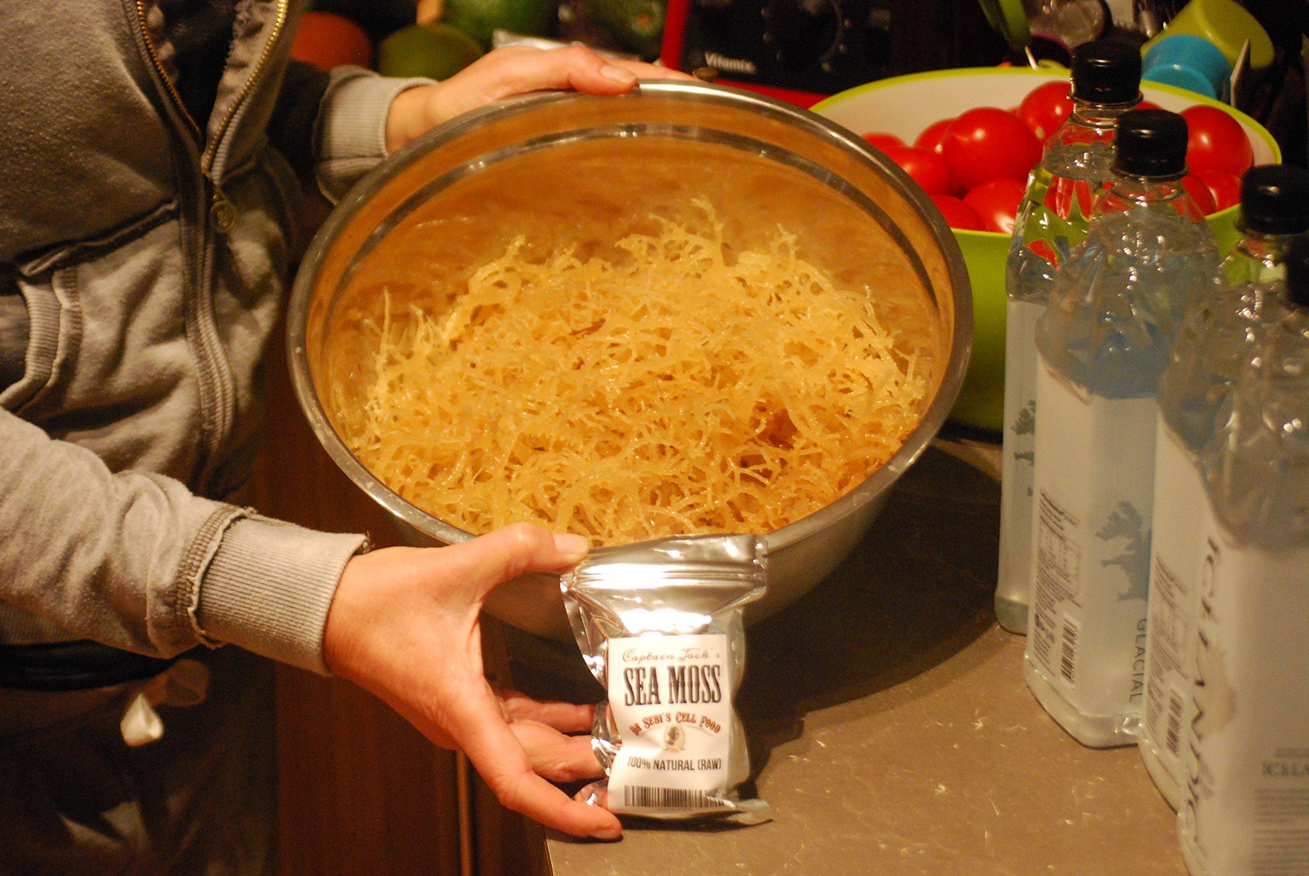 Irish Moss - Raw Organic Wildcrafted Irish Sea Moss by Captain Jack's Superfoods
