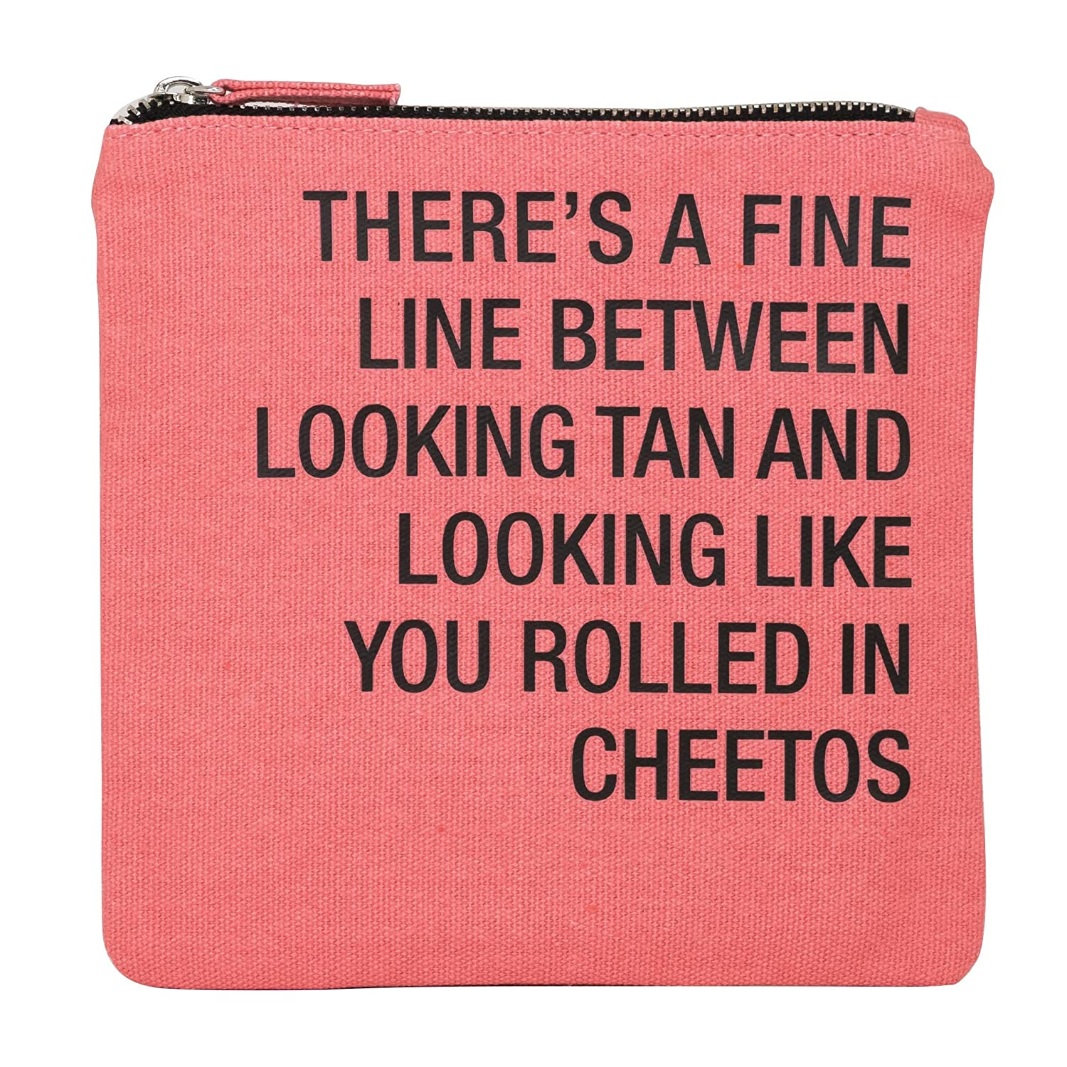 amazon com about face designs rolled in cheetos cosmetic bag 6 75