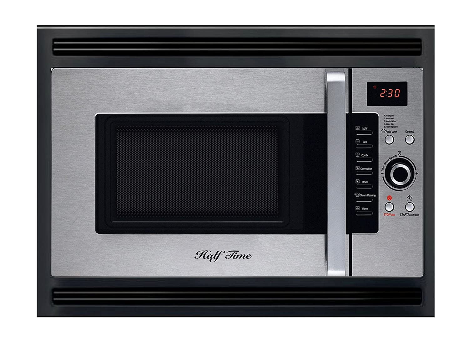"24"" Half Time Built In Convection Microwave Oven for Home & RV. 3 Year Manufacturers Warranty Included."