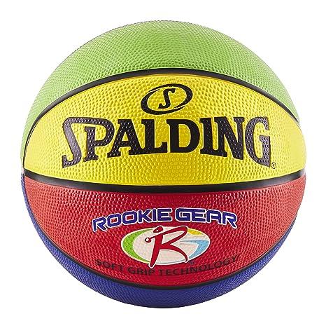 Spalding Rookie Gear Soft Grip - Balón de Baloncesto, Color ...