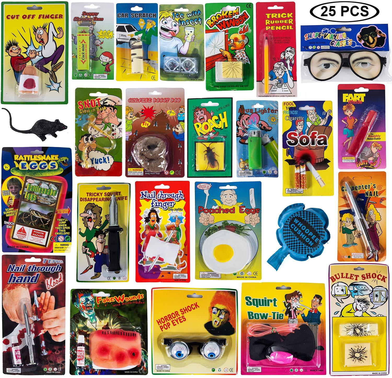 Tigerdoe Prank Kit - Prankster Gifts - Practical Joke Set - Jokes and Gags - 25 PC Prank Pack by Tigerdoe (Image #3)
