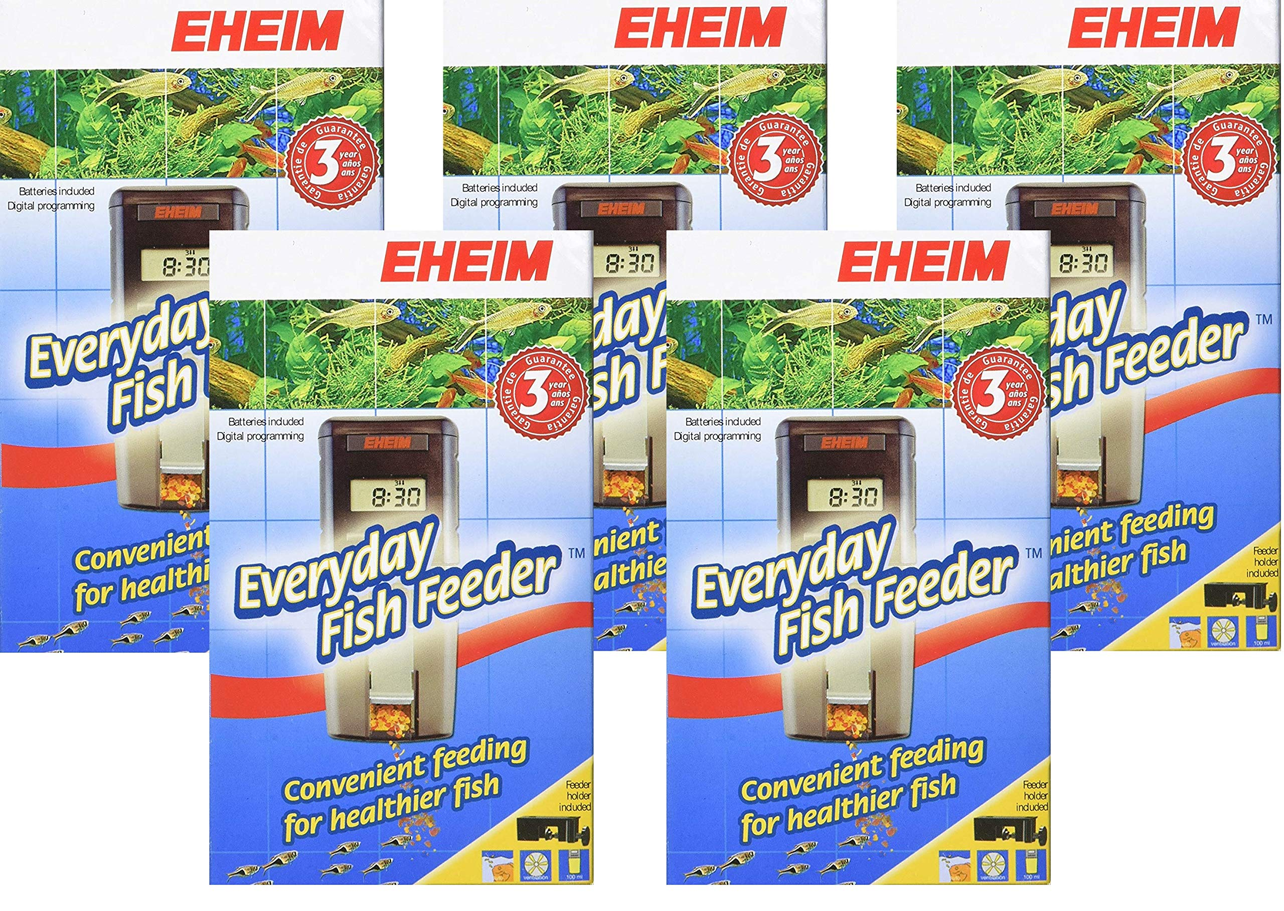 Eheim Battery Operated Auto Fish Feeder 5pk by Eheim