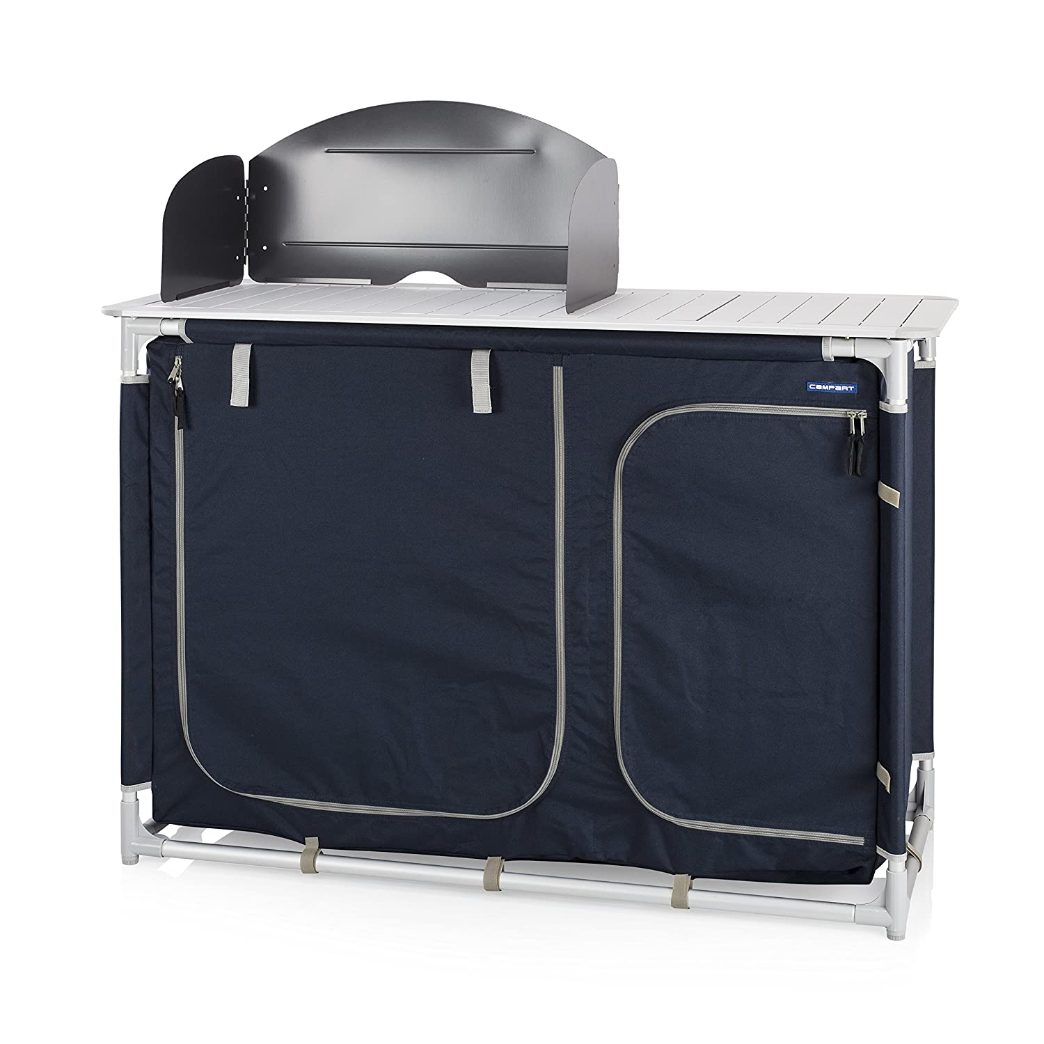 Campart Travel KI-0752 Outdoor Kitchen Valencia With windshield Storage bag included