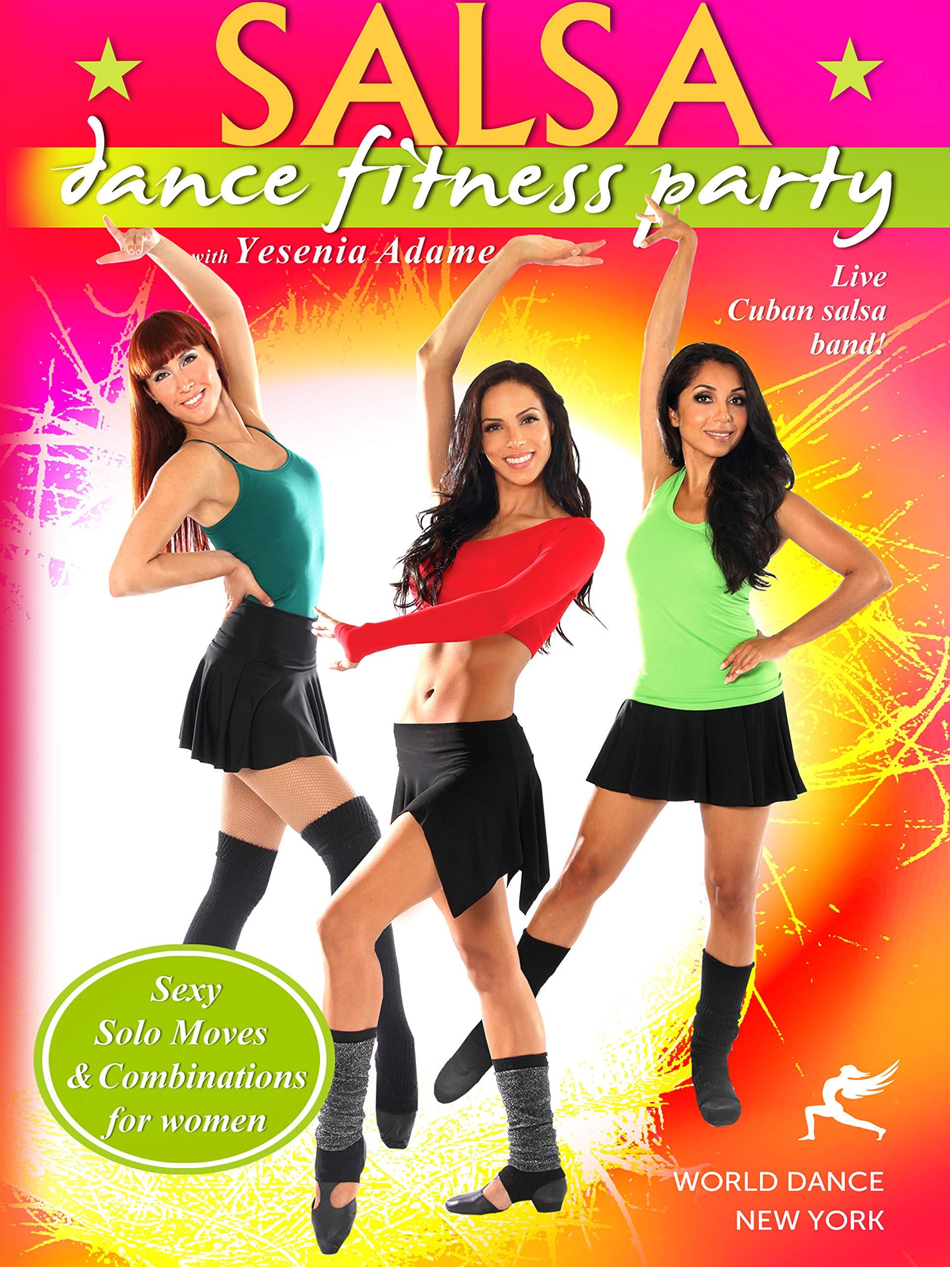 Dvd : Salsa Dance Fitness Party (dvd)