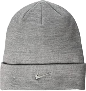 f169a08c Nike Men's Team Performance Beanie, Obsidian/White, One size: Amazon ...