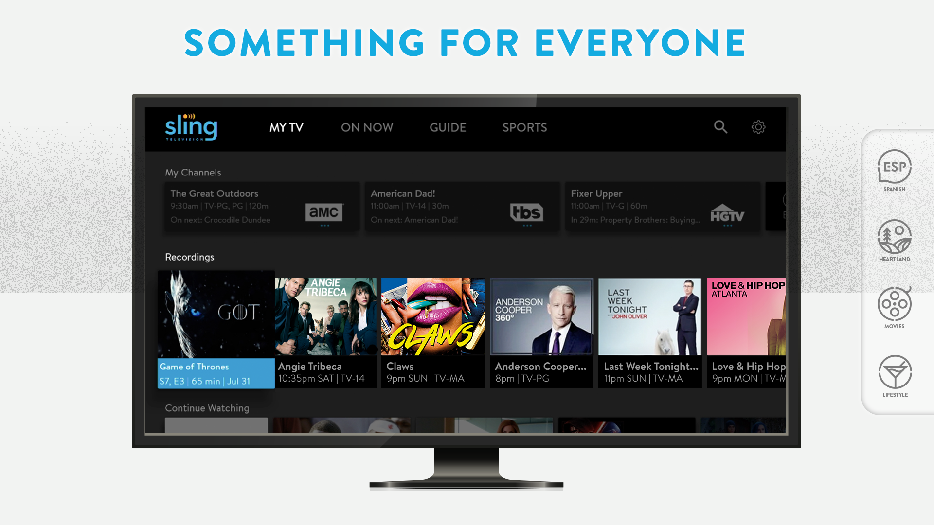 Amazon Gift Card Code >> Amazon.com: Sling Television - A La Carte TV: Appstore for Android