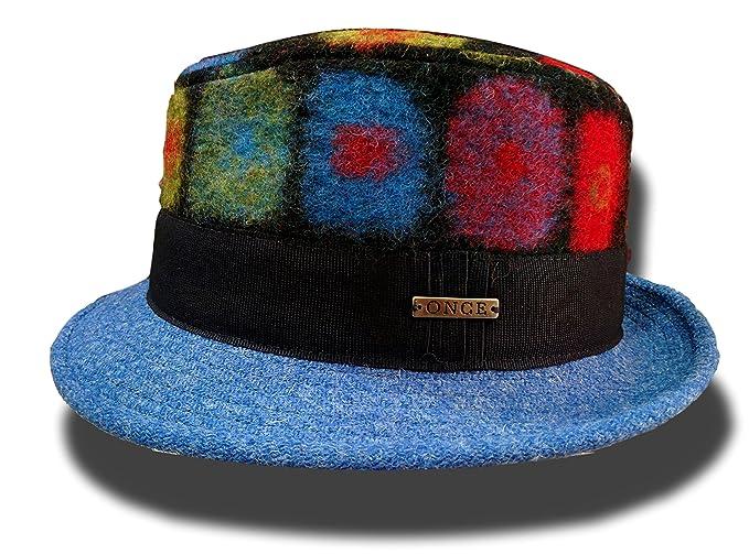 816651d2a8a1b PORTALURI - Sombrero de Vestir - para Hombre  Amazon.es  Ropa y ...