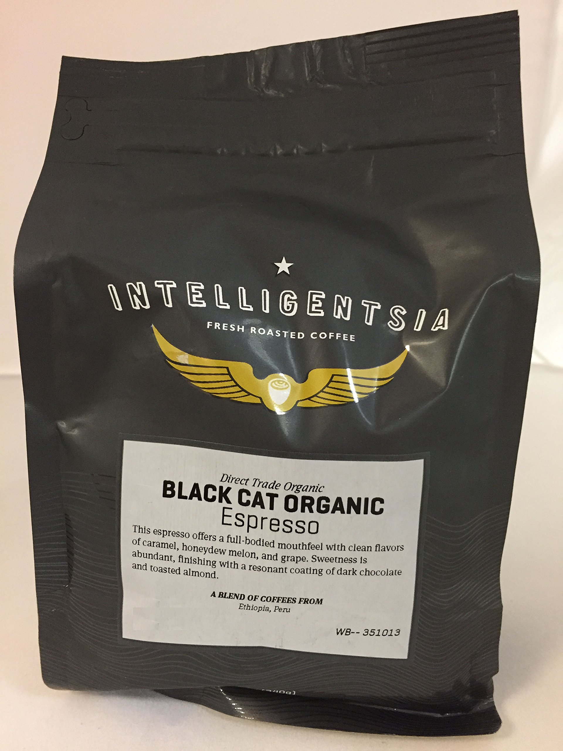 Intelligentsia, Black Cat, Organic Espresso, Whole Bean Coffee 5lb by Intelligentsia (Image #1)