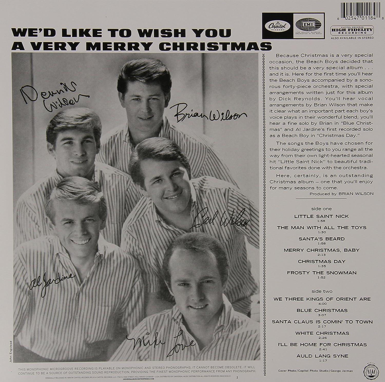 The Beach Boys - The Beach Boys' Christmas Album [Mono LP ...