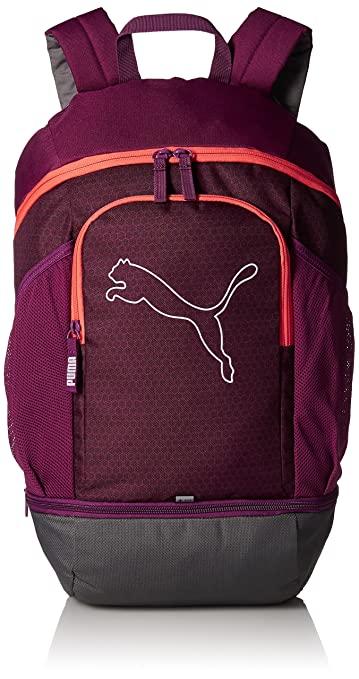 23 Ltrs Dark Purple Hot Coral Laptop Backpack (7439607)  Amazon.in  Bags 8d524a982a87c