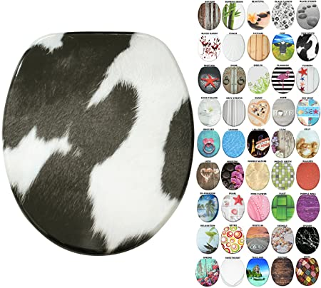 High Quality Toilet Seat Wide Choice of Beautiful Toilet Seats Easy to Mount | Wellness Stable Hinges