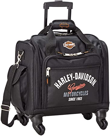 ad718f2706f6 Amazon.com | Harley-Davidson 15.5 in. Wheeling Carry-On Plane Case ...