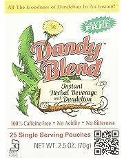 Dandy Blend Instant Dandelion Beverage, 25 Single Serving Pouches, 200g