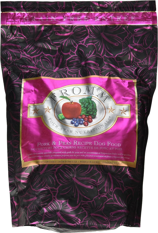 Fromm FourStar Dog Food Pork Peas (4 lb)