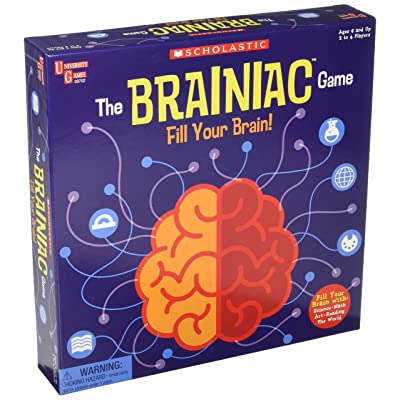 Scholastic - The Brainiac Game: Toys & Games
