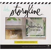 Pink Paislee Heidi Swapp Storyline–Deck of Days–Adventure