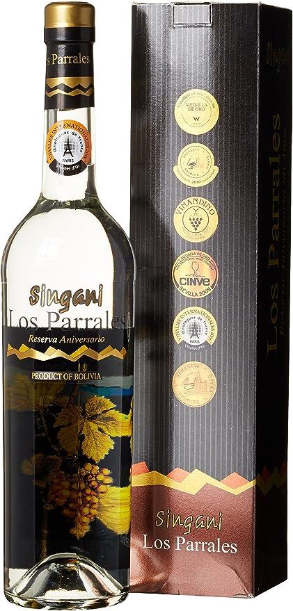 Los paralles singani, reserva aniversario, 1er Pack (1 x 700 ...