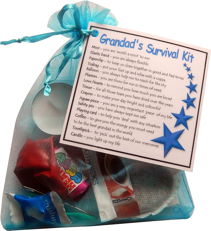 fun handmade Gift * Grandad/'s Survival Kit