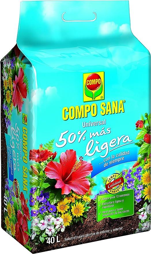 universal M234029 - Sustrato Compo Sana Ligera 40l: Amazon.es: Jardín