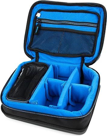 compartiment/ée Couleur Noir//Bleu DURAGADGET Housse pour WOWOTO Mini projecteur//vid/éoprojecteur A5