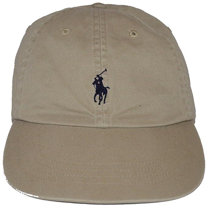 Ralph Lauren - Gorra de béisbol - para hombre beige Beige - Khaki   Amazon.es  Ropa y accesorios f96717bc132