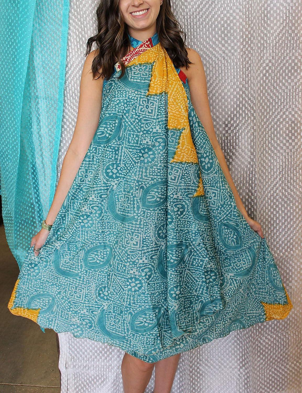 Mogul Interior Faldas envolventes Reversibles Sari Magic Hippie ...