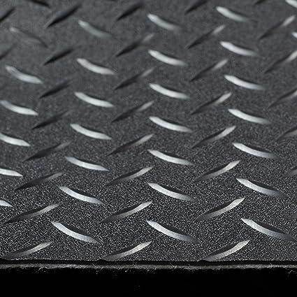 Trailer Diamond Plate Pattern Flooring Black 8 2 Wide Rubber