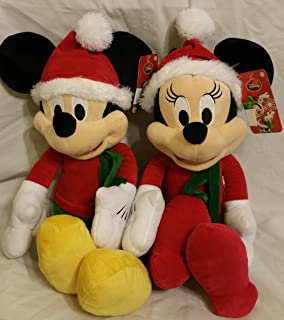 Christmas Mickey and Minnie Mouse 16