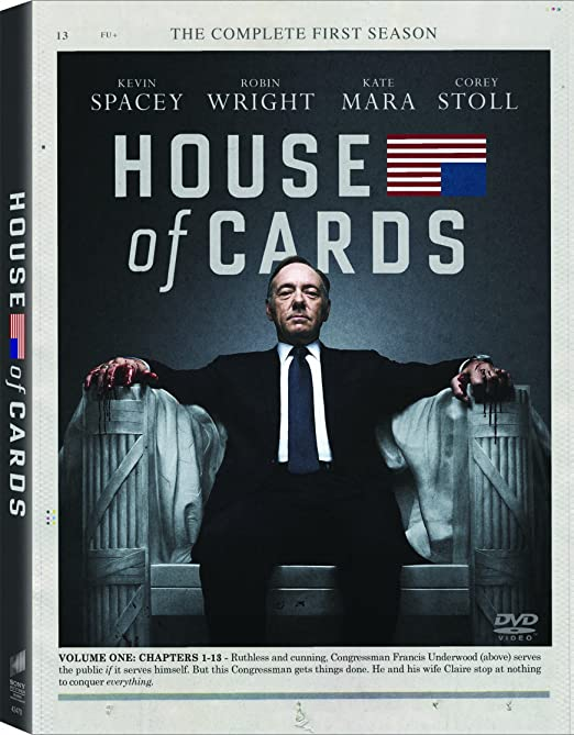 Amazon Com House Of Cards Season 1 Kevin Spacey Robin Wright
